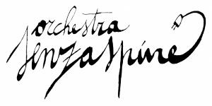 Logo Senzaspine orchestra bologna